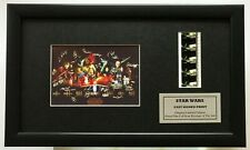 More details for star wars - reproduction cast signed limited edition original filmcell memorabil