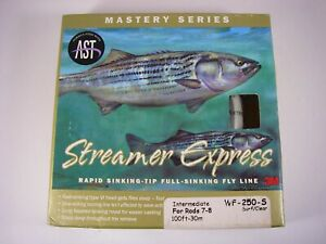 Scientific Anglers WF-250-S Streamer Express FLY LINE; Intermediate; 7-8 WT Rod