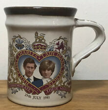 Vintage Charles & Diana Cup Marriage 1981 Welsh Beaker Company Royal Collectable