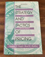 Strategy and Tactics of Pricing : A Guide to Profitable Decision Making HC/DJ