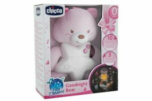 Peluche Chicco First Dreams Goodnight Bear Rosa