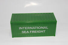 20´ Container  International Seefracht 1:50  NEU  Stapelbar  SEA FREIGHT