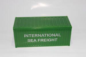 20´ Container  International Seefracht 1:50  NEU  Stapelbar  SEA FREIGHT