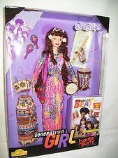 BARBIE GENERATION GIRL BEAT GIFTSET CHELSIE DRUM TAMBORINE HIPPIE DANCE PARTY