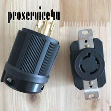 NEMA L15-20P L15-20R Locking Plug Locking Connector Twist Lock Turnlok 20A 250V