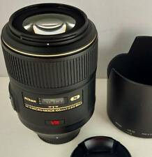 Nikon AF-S Micro Nikkor 105mm f/2.8G ED VR Nano near mint Made In Japan