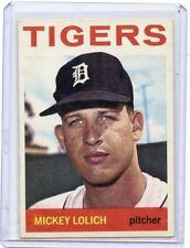1964 TOPPS #128 MICKEY LOLICH, ROOKIE RC, DETROIT TIGERS, SET BREAK, 070117