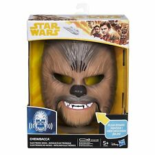 Star Wars The Force Awakens Chewbacca Electronic Mask Disney UK