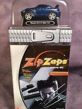 ZipZaps 2003 SPECIAL EDITION Micro RC METALLIC BLUE MAZDA RX-8 X-MEN Car *RARE*