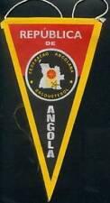 ANGOLA BASKETBALL FEDERATION MEDIUM PENNANT 14x26cm