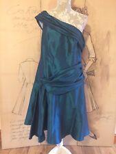 Gorgeous Teal Party Dress, Teatro, 16-18 Christmas Retro Vintage Style