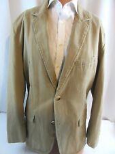 Mens Gap Casual Cotton Blazer Khaki Twill size XL