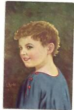 C. KREBS A/S PORTRAIT YOUNG CHILD P/C