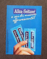F816 - Advertising Pubblicità - 1988 - ALKA SELTZER EFFERVESCENTE