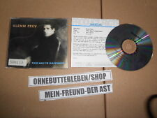 CD pop Glenn Frey-this way to Happiness (3 chanson) MCD MCA rec/presskit Eagles