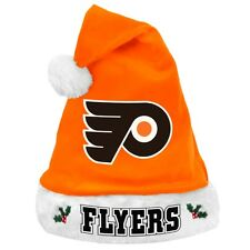 Philadelphia Flyers NHL 2012 Christmas Santa Hat - Plush Winter Apparel