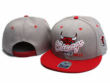 hot! HOT NEW NWT Vintage Chicago Bulls Gray/RED Snapback Cap&Hat