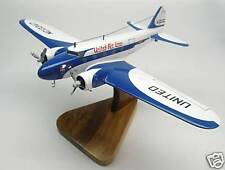 B-247 United Airlines Boeing Airplane Handcrafted Wood Model Regular New