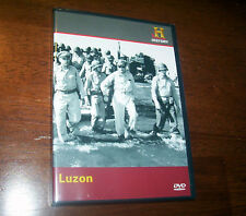 LUZON World War II Pacific War Philippines WWII Warfare History Channel DVD NEW
