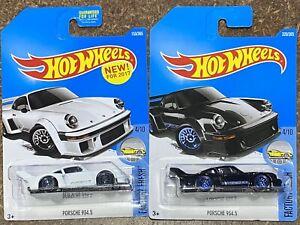HOT WHEELS Porsche 934.5 x2 Long Cards New Mint.