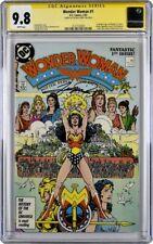 Wonder Woman #1  CGC 9.8 Signature Series Gorge Perez