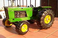 Vintage Tonka farm tractor green 1977