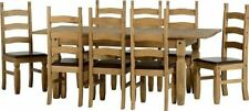 Pine Country Extending Table & Chair Sets