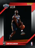 ZION WILLIAMSON – 2019-20 NBA INSTANT RPS FIRST LOOK PELICANS JERSEY ROOKIE CARD