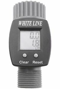 GARDEN TAP DIGITAL WATER FLOW METER.FREE DELIVERY!(MEASURE YOUR WATER USE)