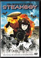 Katsuhiro Otomo: STEAMBOY (edición 2 dvd). Tarifa plana envío dvd España 5 €