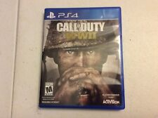 Call of Duty: Wwii Ww2 (Sony PlayStation 4, 2017) Ps4