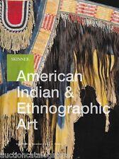 Skinner Native American Indian & Ethnographic Art Post Auction Catalog 2013