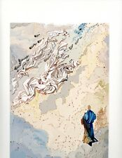 SALVADOR DALI THE DIVINE COMEDY PARADISE 20 ORIGINAL LTD. ED. WOODBLOCK PRINT