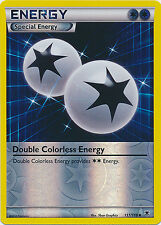 Double Colorless Energy Uncommon Rev Holo Pokemon Card XY Phantom Forces 111/119