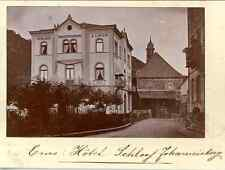 Allemagne, Ems, Hotel Schloss Johannisberg Vintage print.  Photomécanique  9