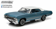 1967 Chevrolet Impala Sport Sedan 1:18 Greenlight 19008 BLUE