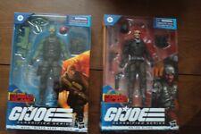 G.I. Joe Classified Major Bludd & Beachhead *blue eyes version* Cobra Island NEW