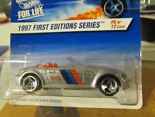 Hot Wheels BMW M Roadster 1997 First Editions #6 of 12 Silver 3 sp