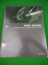 NOS Harley-Davidson 2007 VRSC Models Electrical Diagnostic Manual 99499-07 OEM