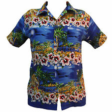 Unbranded Beach/ Palm Tree Casual Shirts & Tops for Men