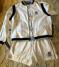 Vintage Tommy Hilfiger 2 Piece Men's Athletic Suit  Jacket/Shorts