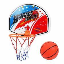 Basketball Hoop Indoor Plastic Backboard Box Mini Basket Board Play Kids Game
