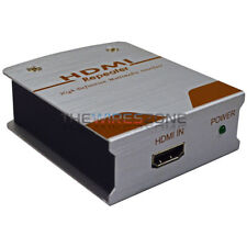 1080p HD HDMI Repeater Extender Booster Adapter Over Signal HDTV DVD Players