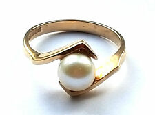 Pearl Ring Vintage Fine Jewellery (1970s)