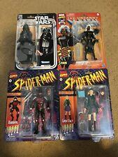 Black Series Vader Marvel Legends Retro Spider-man Gwen X-Men Storm Daredevil 6?