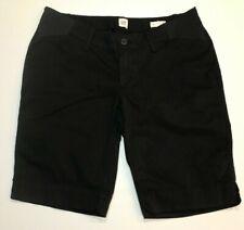 NWT GAP Maternity Bermuda Shorts Sz 6 Black Stretch #5000436