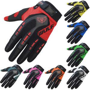 WULFSPORT Cub Attack Kids Motocross Gloves Junior Motorbike Pit Dirt Quad Bike