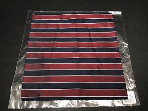 Atlas Design Hanky 100% Silk  New In Bag