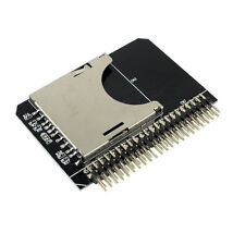 NEW SD/Micro sd Memory Card to 2.5 44pin IDE Adapter Reader SD to ide For Laptop