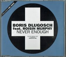 "BORIS DLUGOSCH feat. ROISIN MURPHY - 5"" CD - Never Enough Mixes + Video"